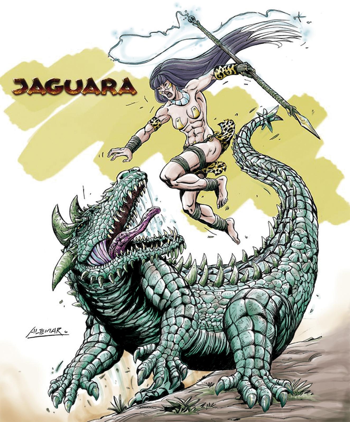 Kuc-A - This monstruous alligator is a dangerous enemy