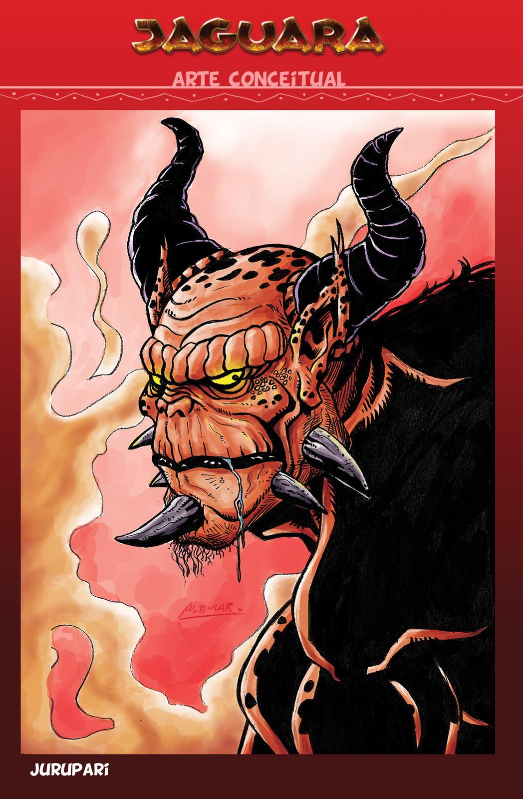 Jurupari - The supreme deamon and principal enemy of Jaguara