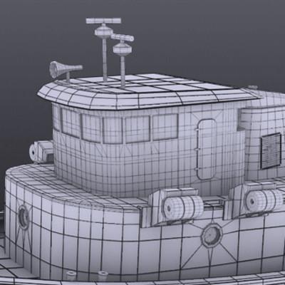 Natarajan s tug boat front