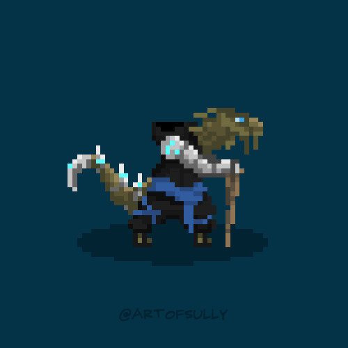 'Master Blu Tung' Sprite (Commission)