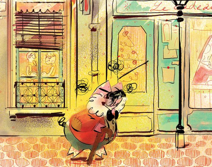 Anais marmonier anais marmonier paris illustration france concept art lyon character designer human animal tvshow