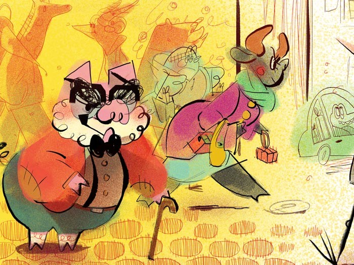 Anais marmonier anais marmonier paris illustration france concept art lyon character designer animal childbook