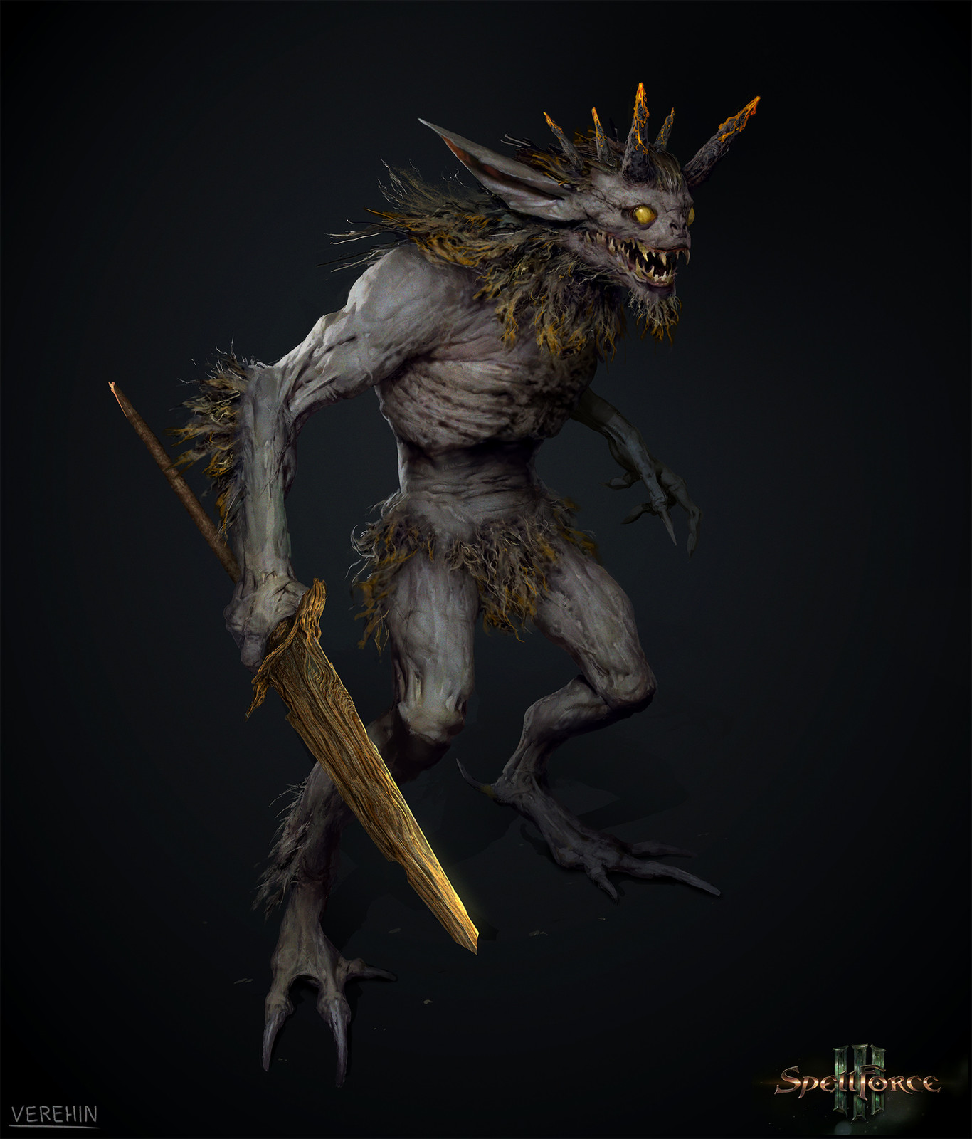 Creature concept for Spellforce 3