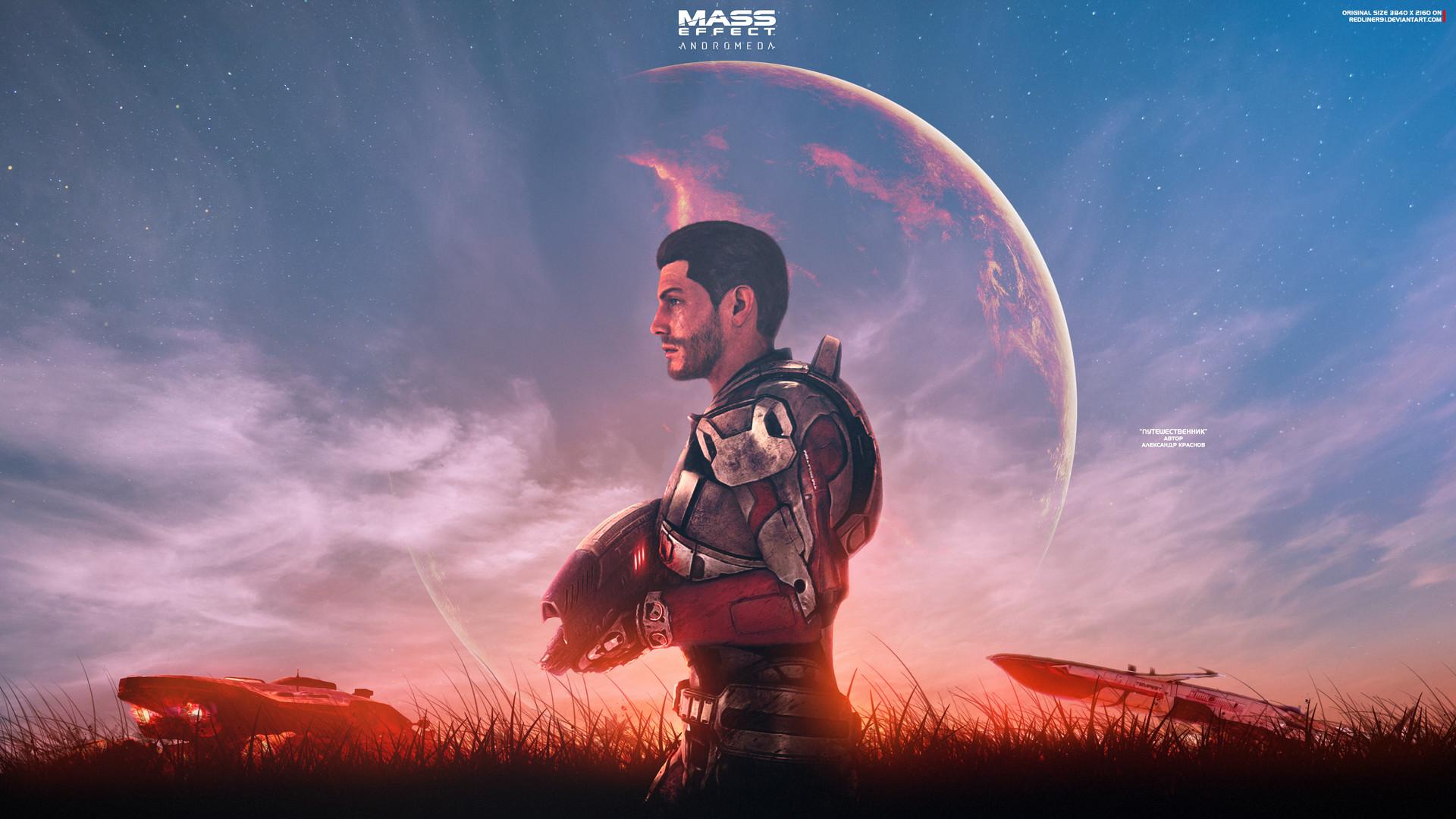 Alexander Krasnov Traveler Mass Effect Andromeda 4k
