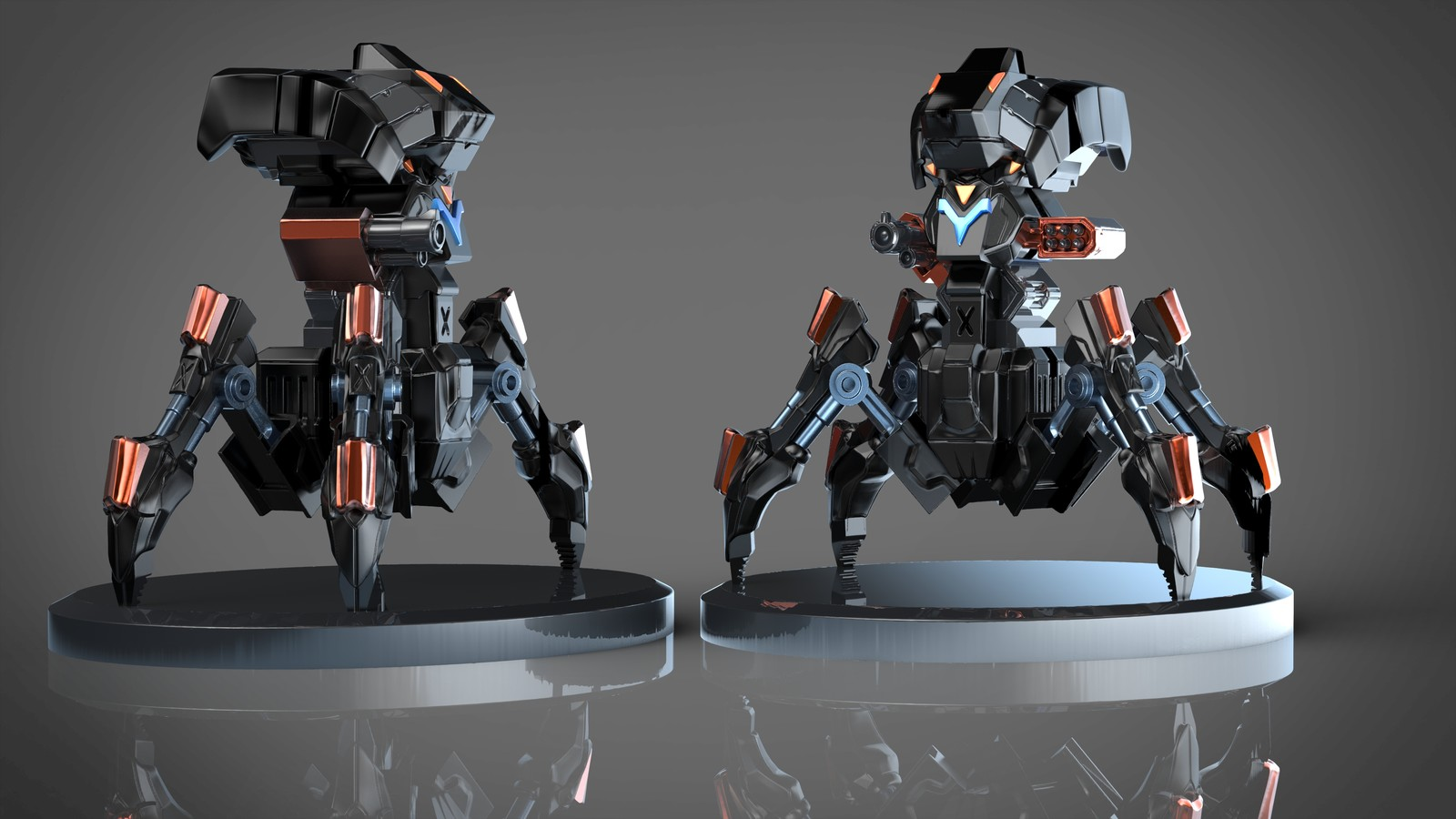 Mech unit for upcoming wargame