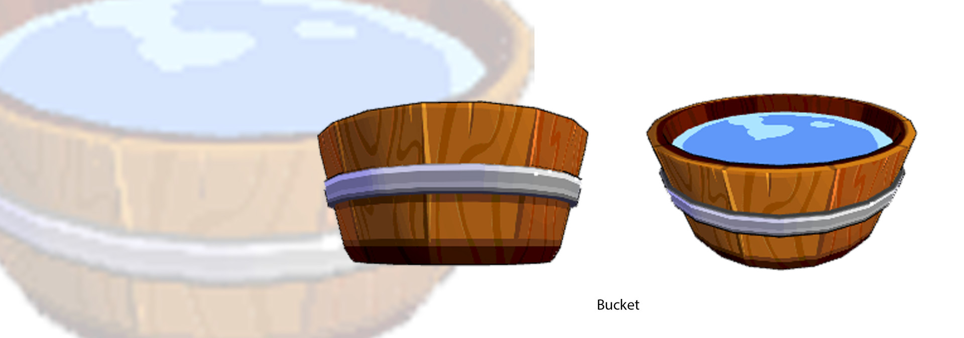 Bucket Model and texture