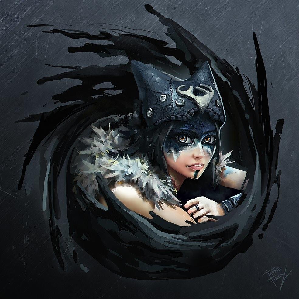 Concept Art Hellblade Senua