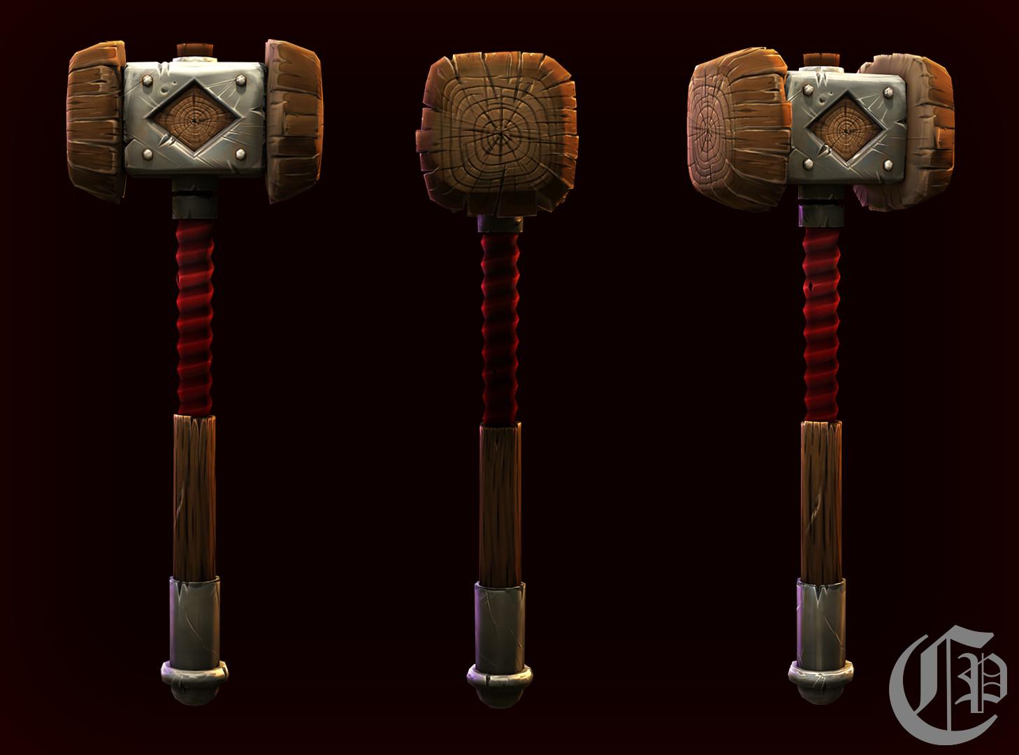 Paul carstens forge hammer