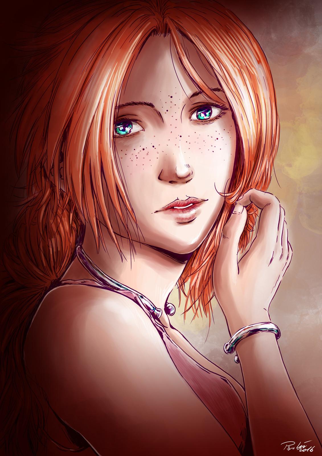 Anis portrait
