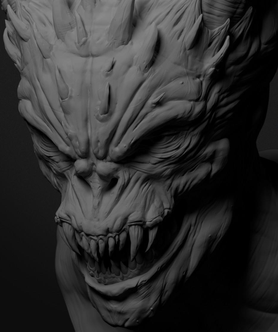 Ilhan yilmaz demon render v04