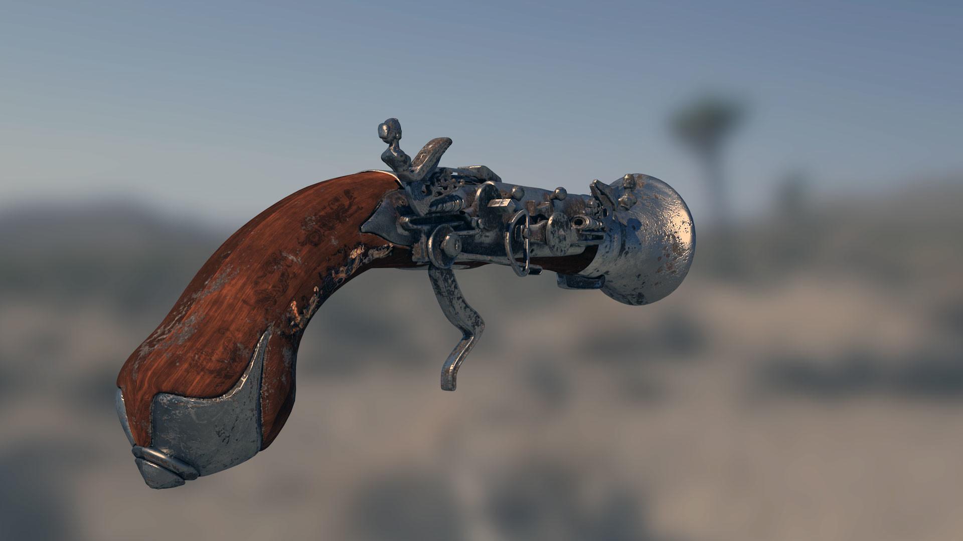 Fabricio rezende render gun 0133