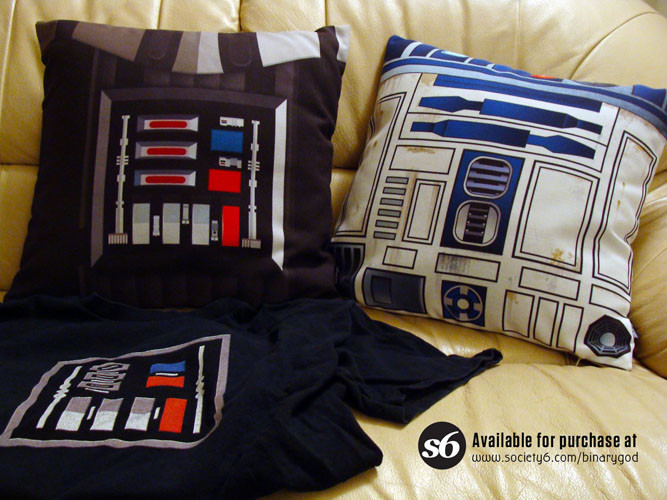Steve rampton starwars pillows