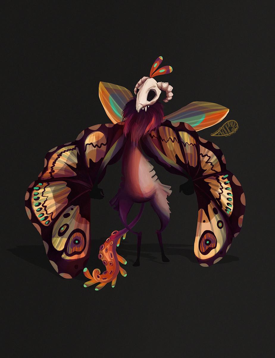 Vanessa morales moth2 by phonemova