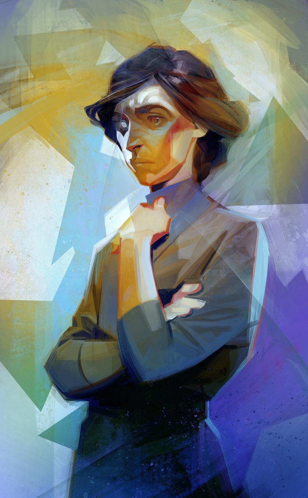 Sergey kolesov delilah painting alex hd