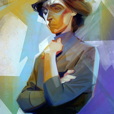 Sergey kolesov delilah painting alex hd