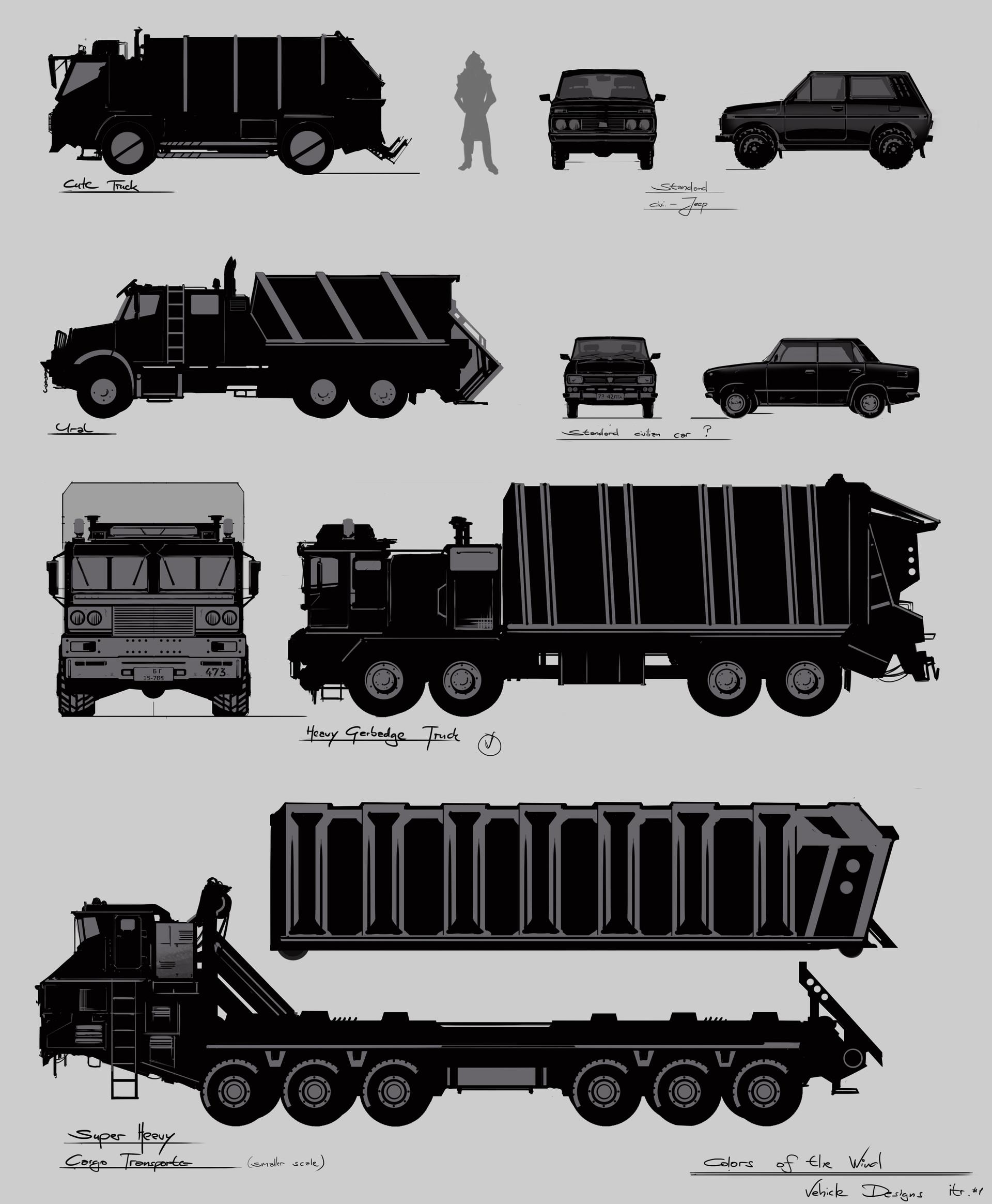 Michail mamaschew vahicle designs