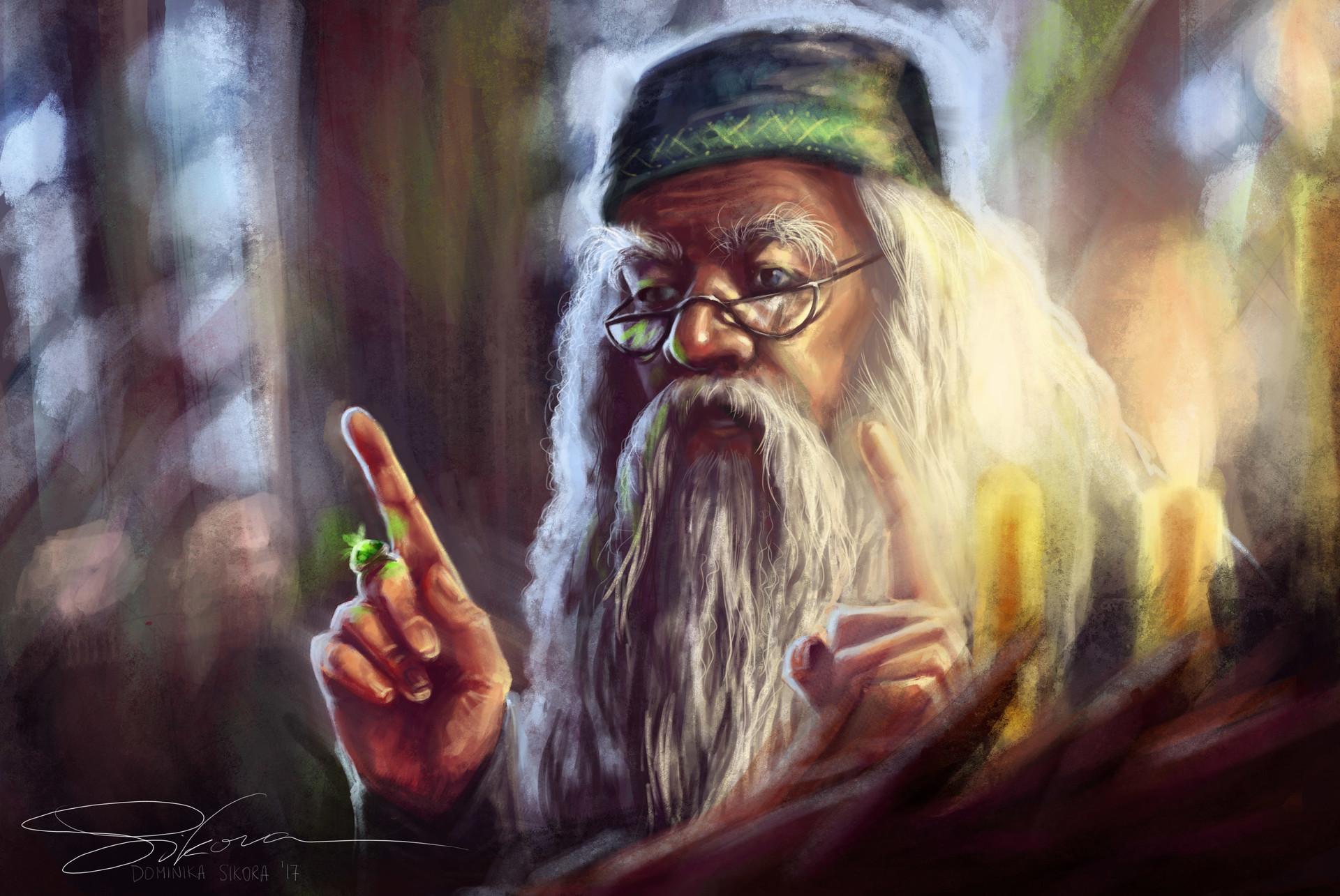 Dominika sikora albus dumbledore harry potter by makota dominika sikora