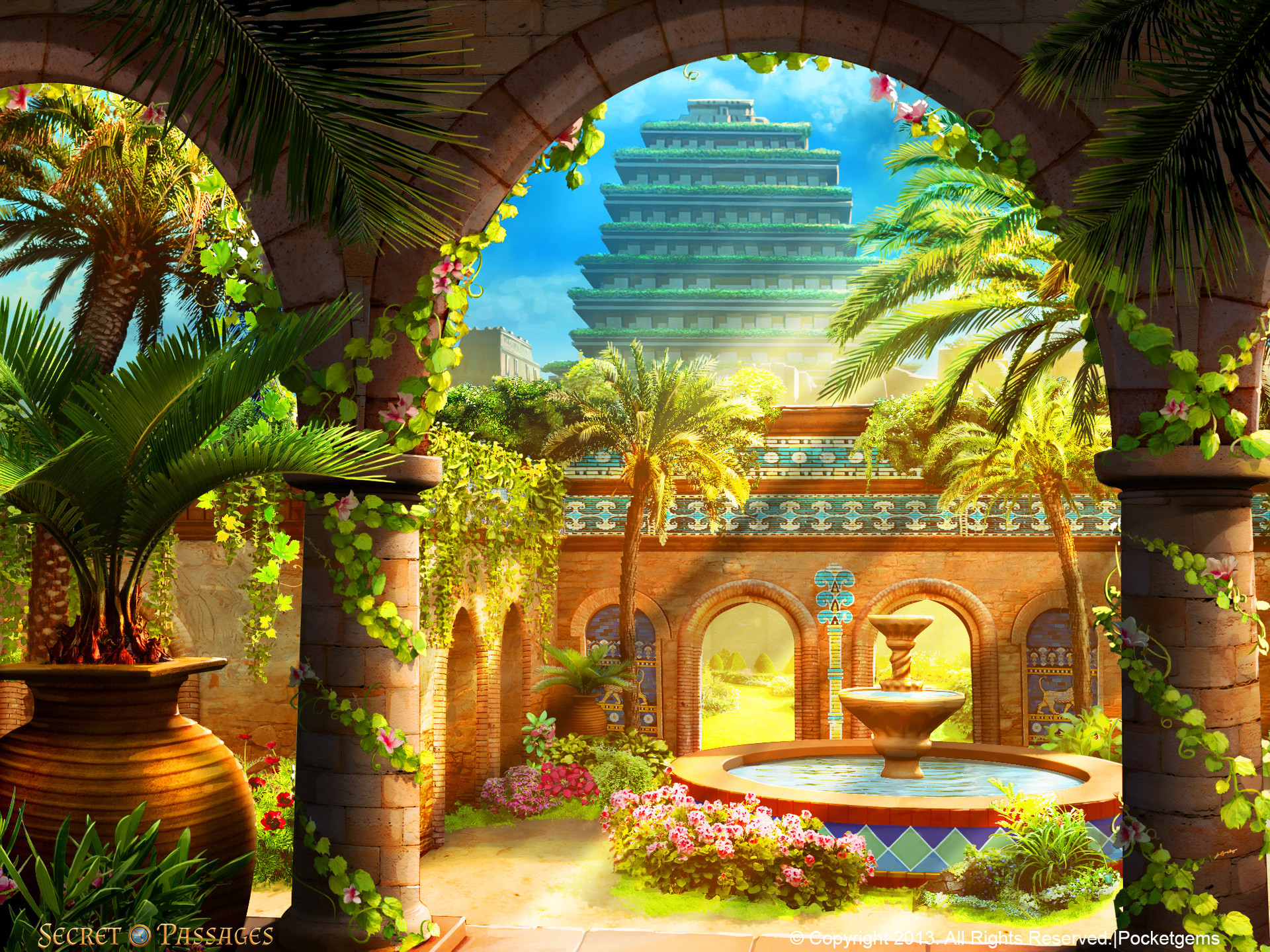 New Dunes   Hanging Garden Of Babylon