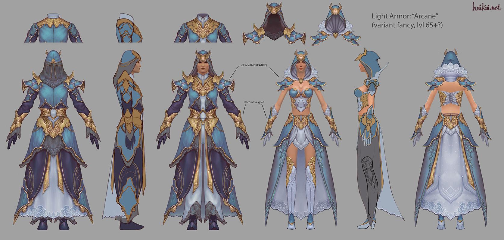 Hai Phan - Guild Wars 2 Light Armor Sets