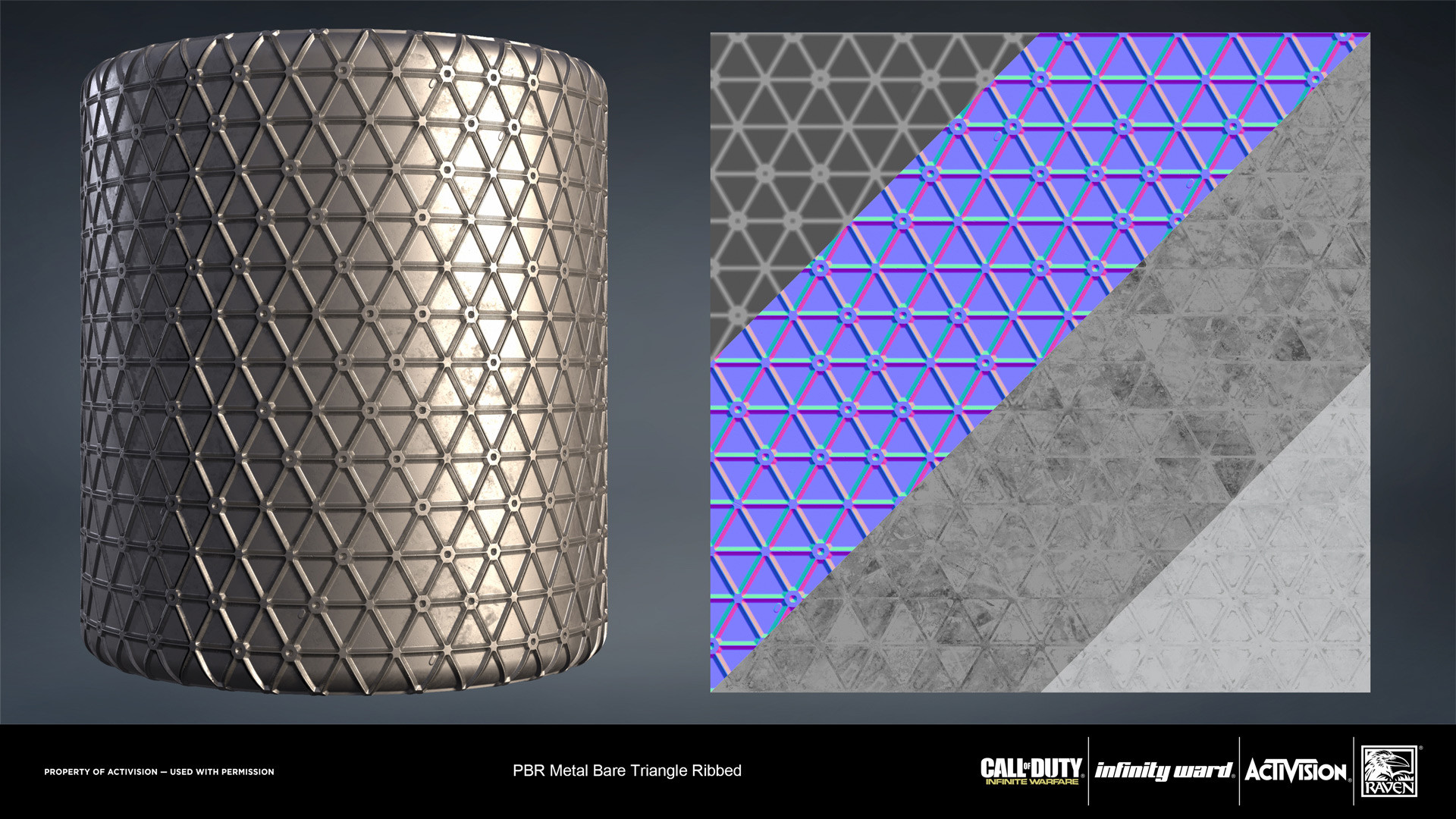 Joshua lynch metal bare ribbed triangle 01 iw cylinder