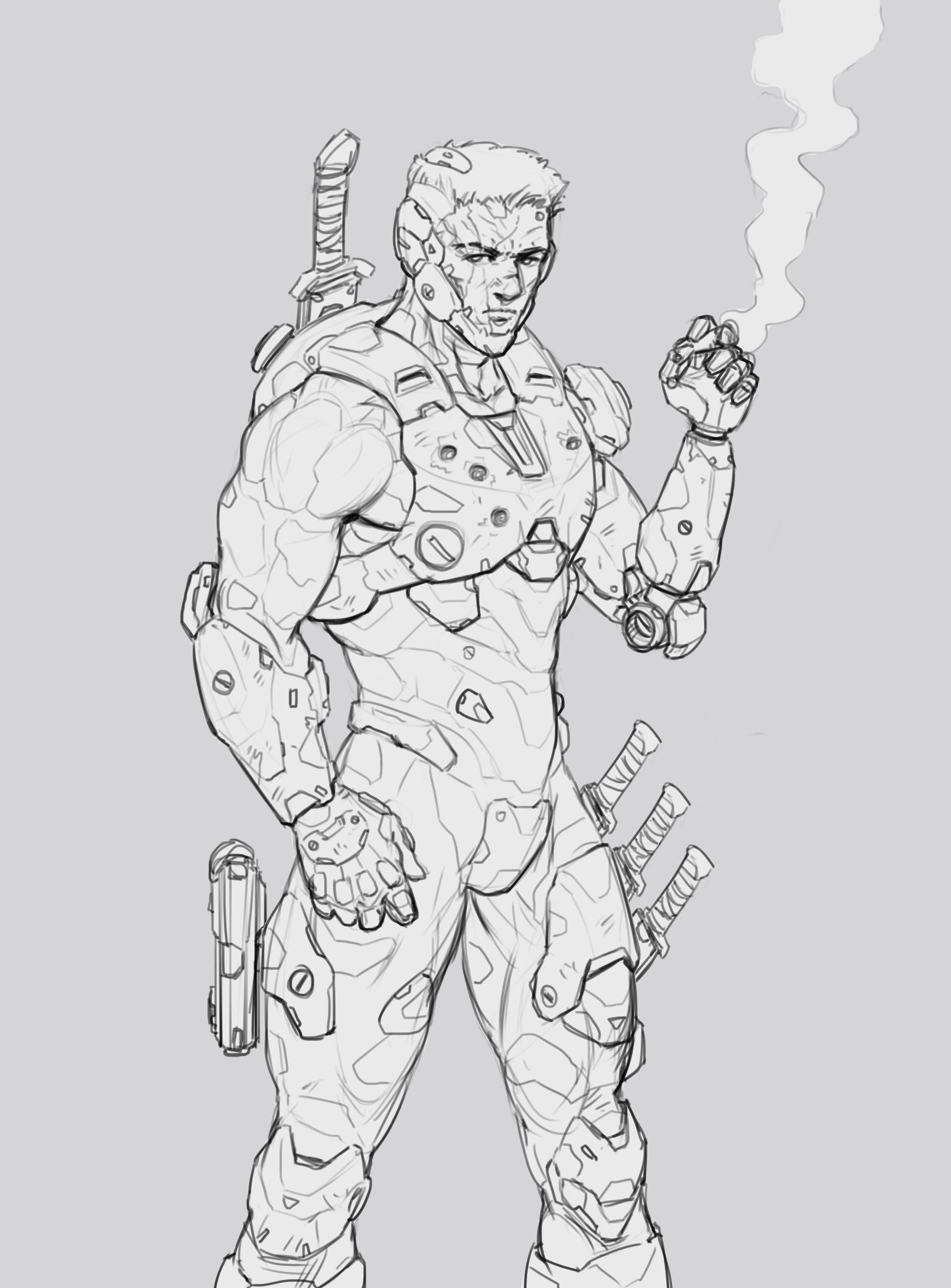 Salvador trakal sketch26