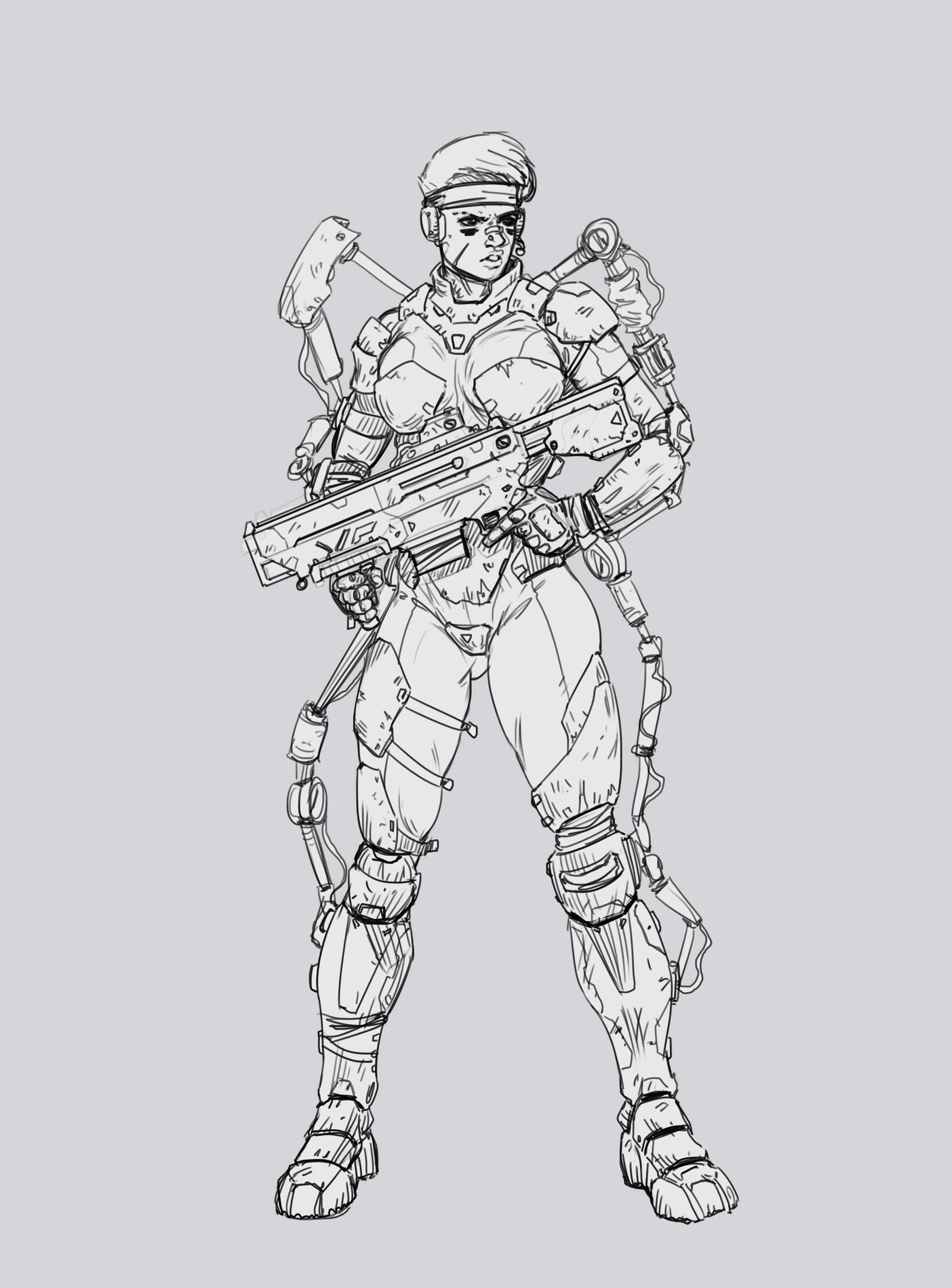 Salvador trakal sketch38a