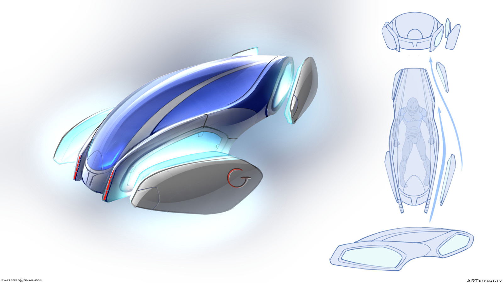 Concept Flay personal transport