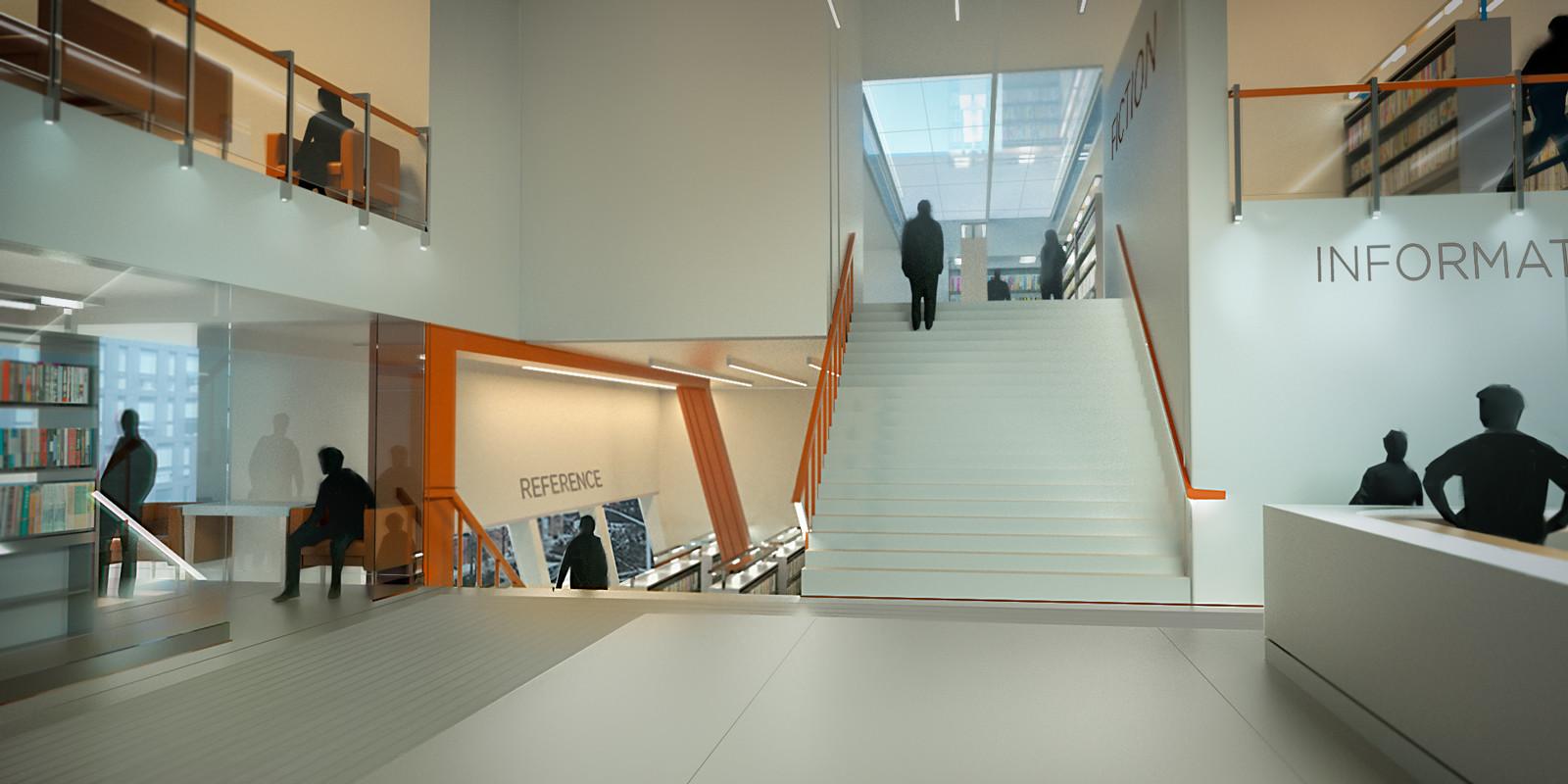 Matt kohr lobby urban modernism