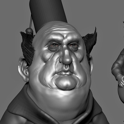 WIP 3D Speed sculpt based upon a concept by jean baptiste Monge