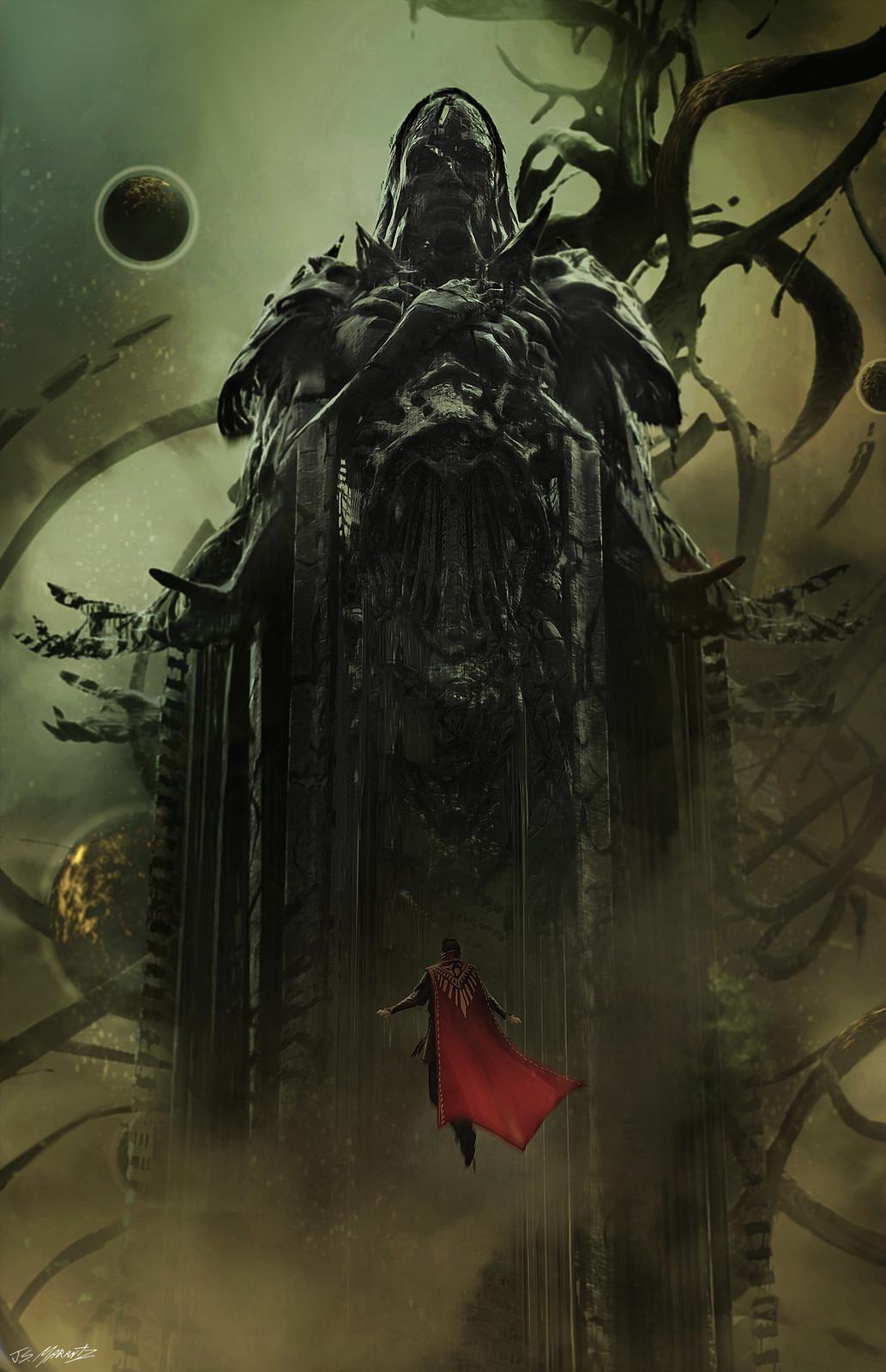Dormammu Concept for Dr. Strange