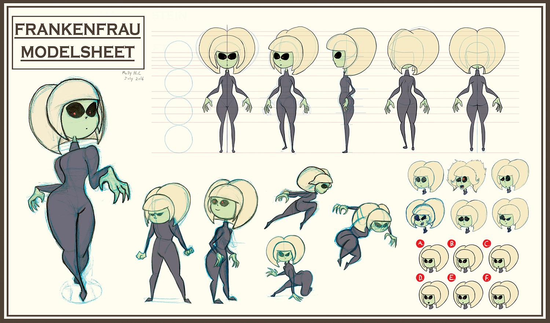 Frankenfrau Character Sheet
