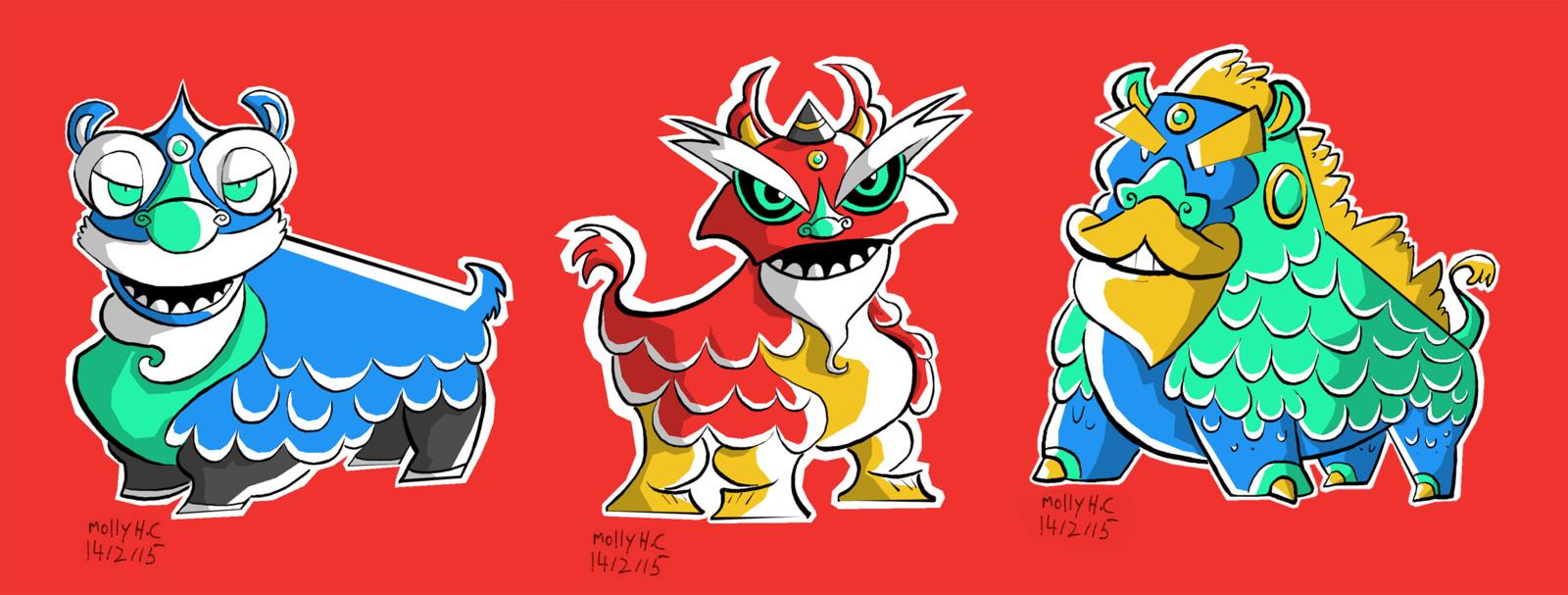 Nihan Character Concepts