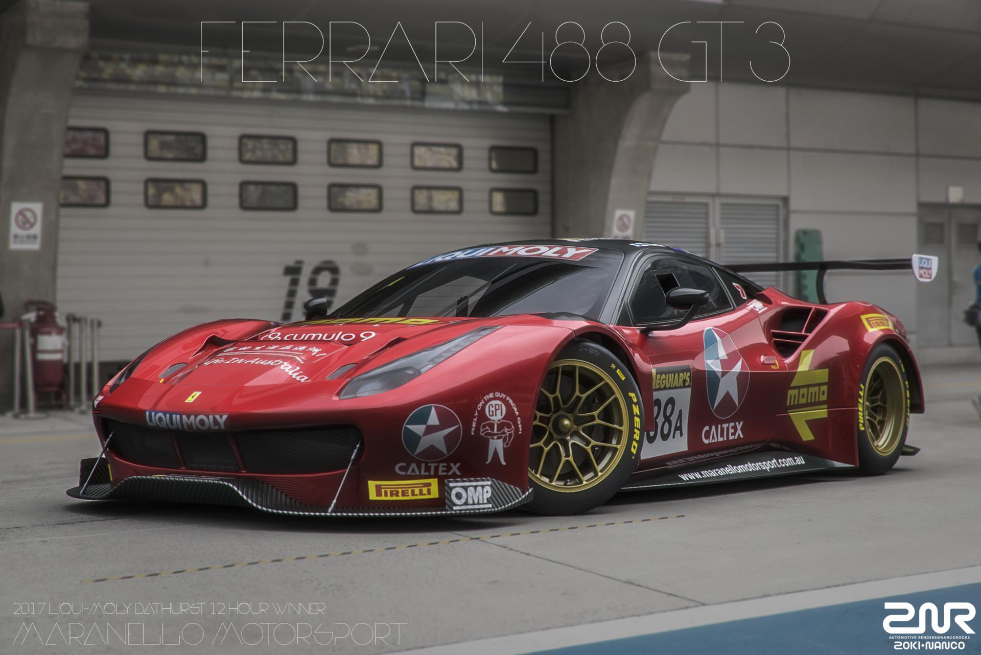 Zoki Nanco Nancorocks Znr3d Ferrari 488 Gt3