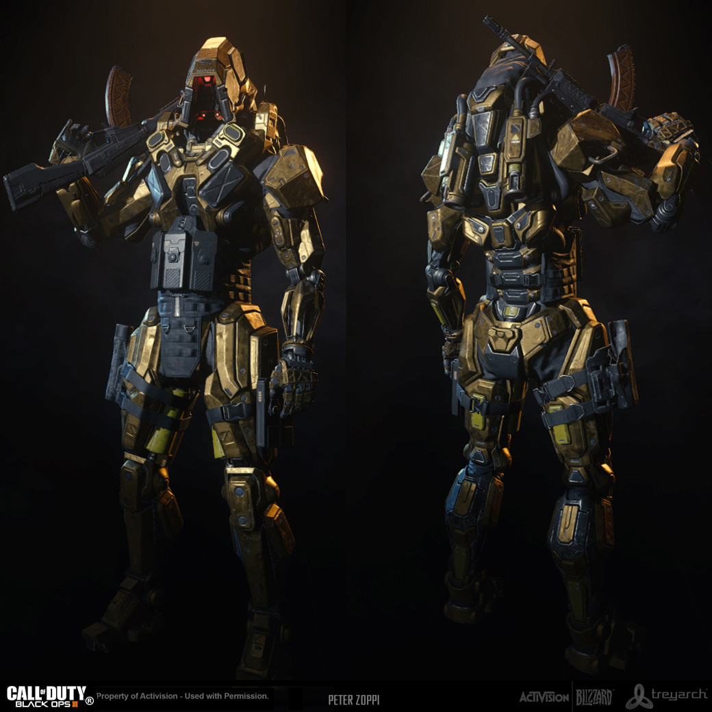 Black Ops 3 - Reaper - OEM Theme