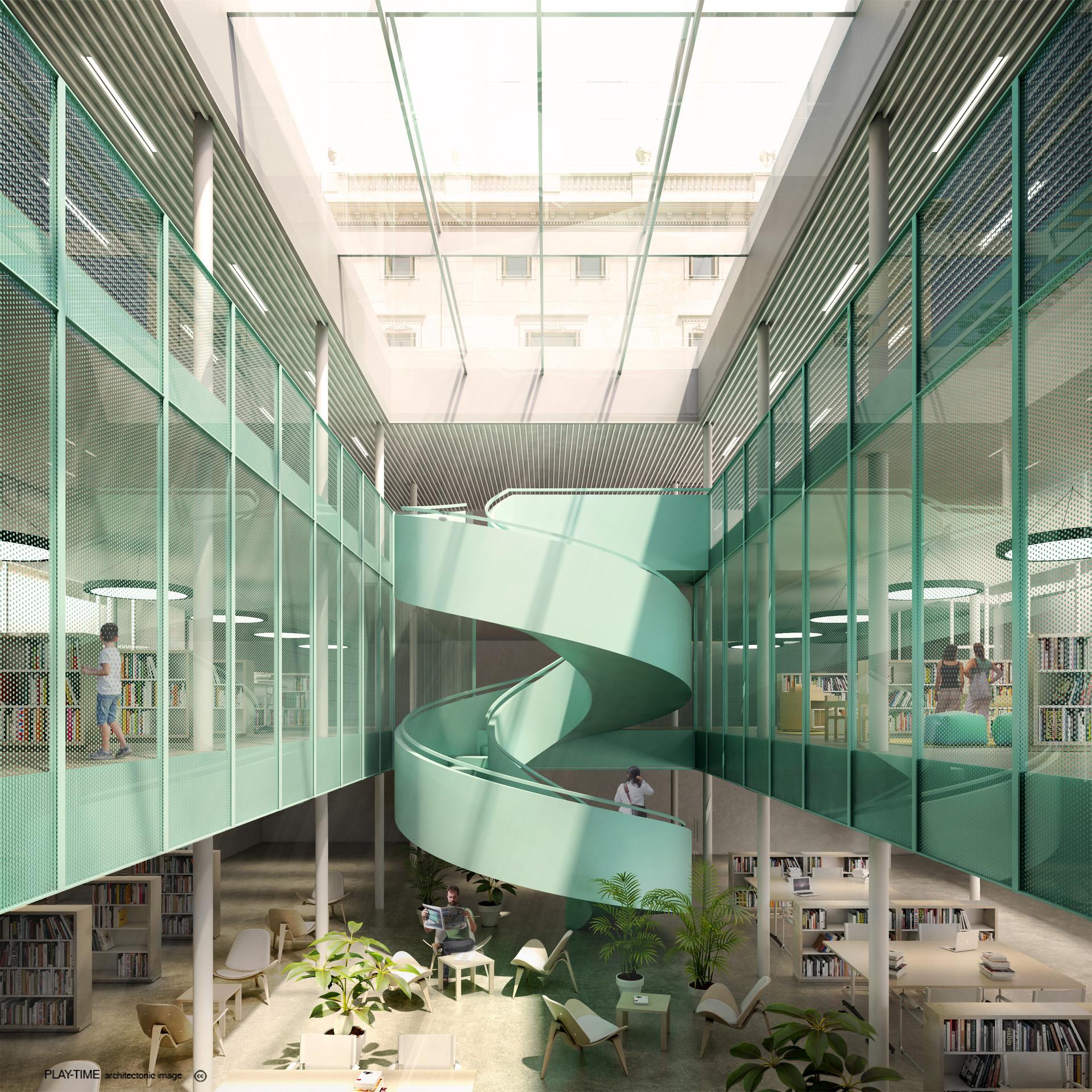 Play time architectonic image interior per publicar
