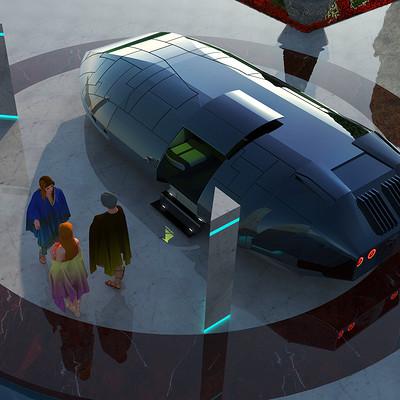 Giorgos tsolis futuristic car