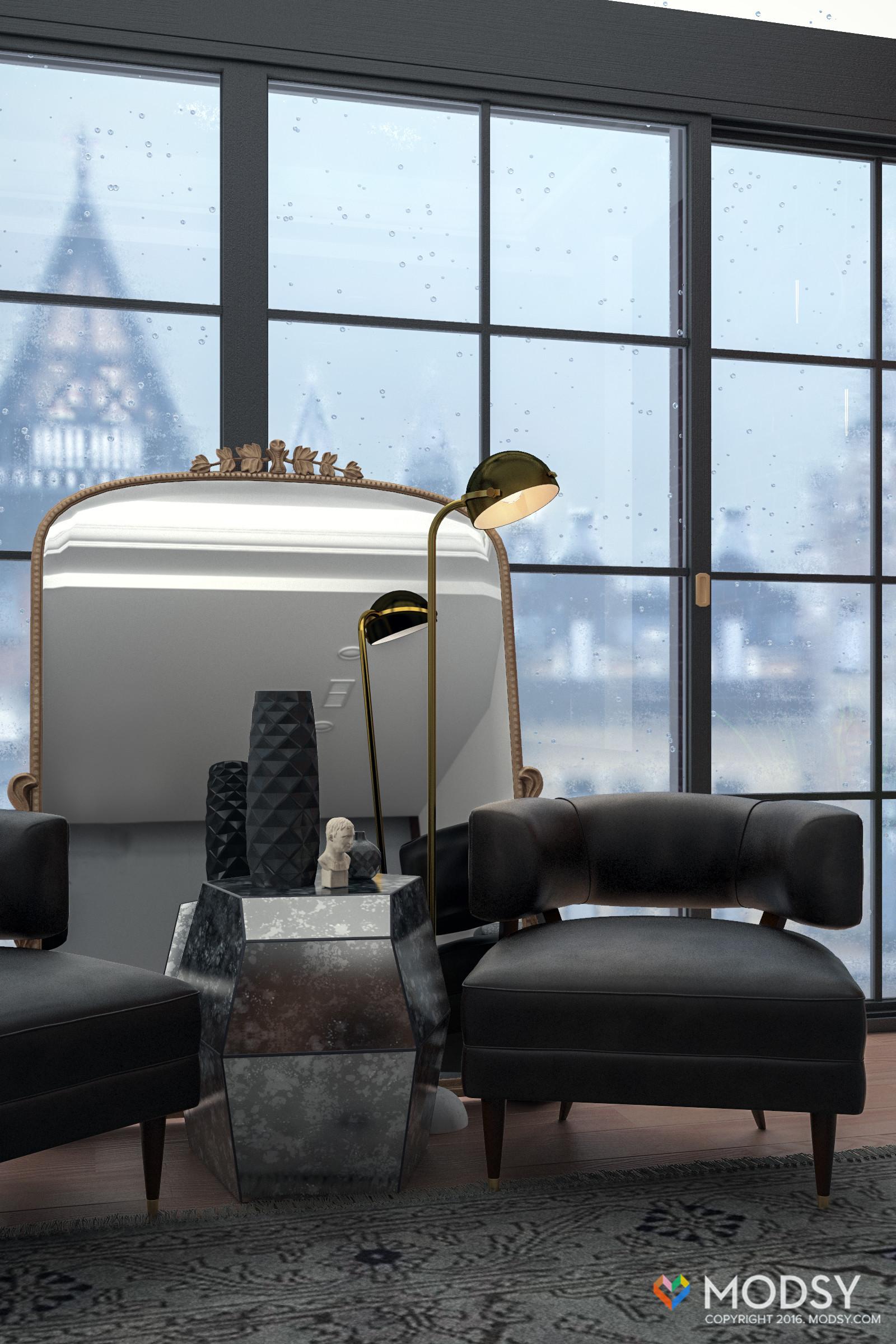 ArtStation - London Loft, MODSY Design