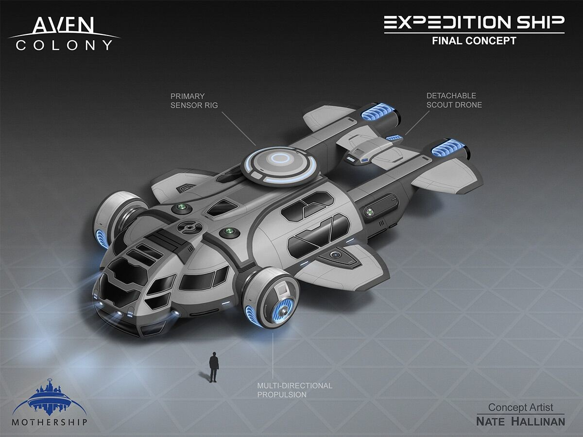 Final concept of Expedition Ship.