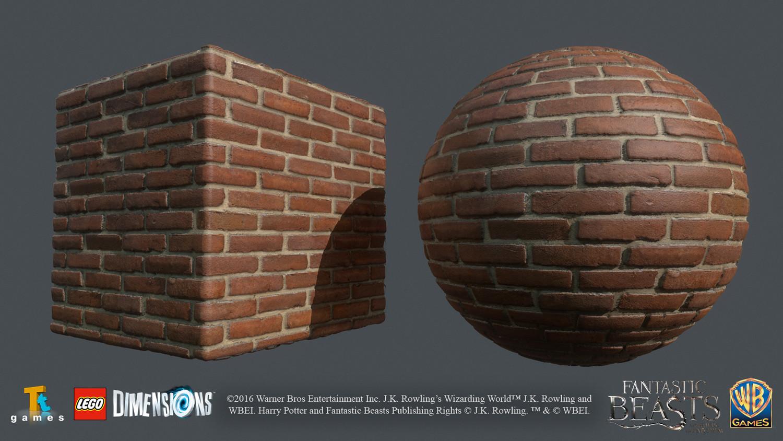 Brick texture, mainly photosource / Photoshop work