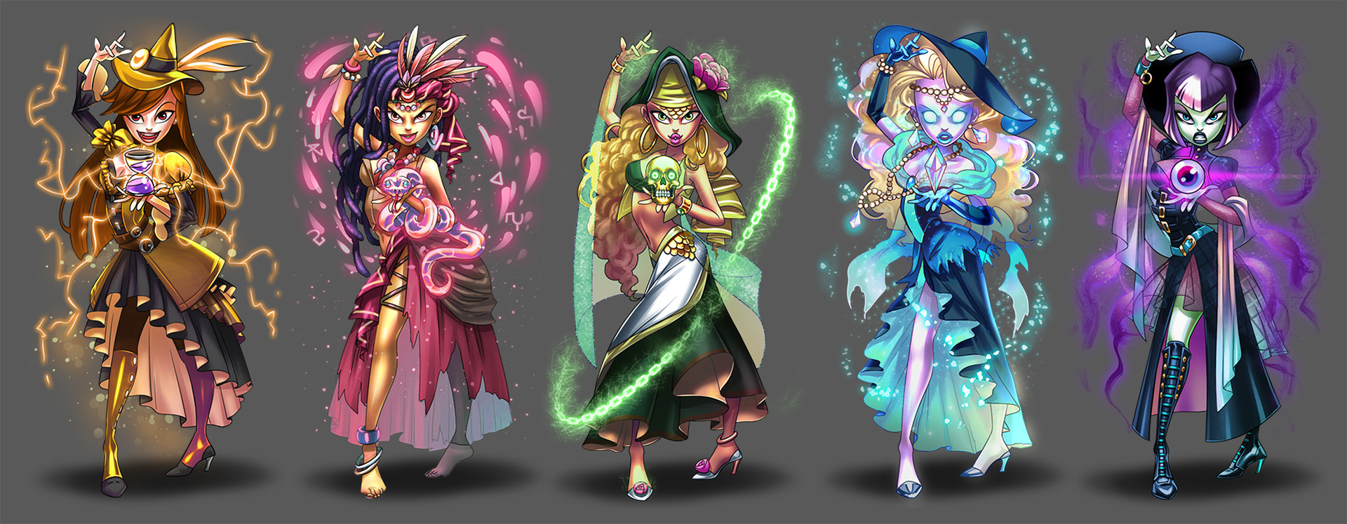 Evelin unfer select witches