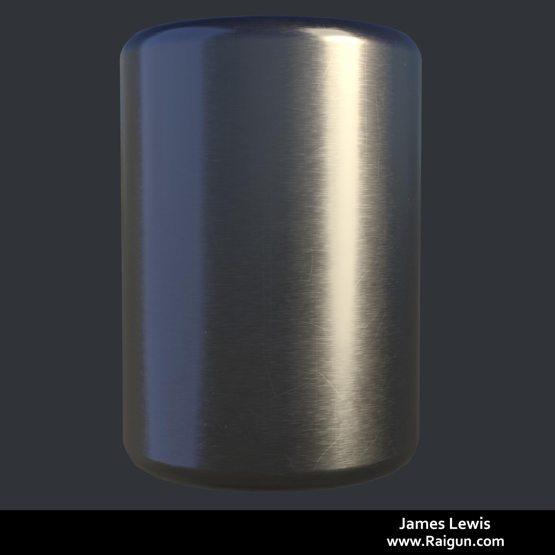James lewis brushedmetal 001