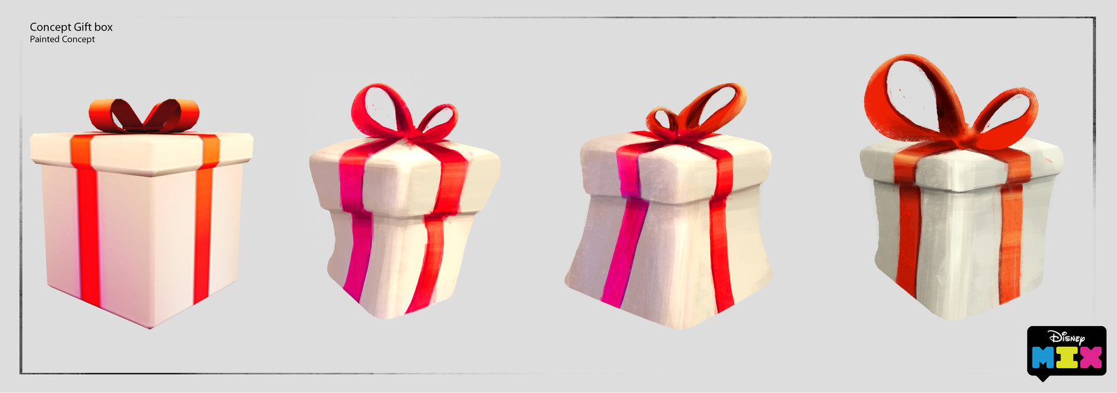 """Concept to """"Mixify"""" an in game 3d gift box"""