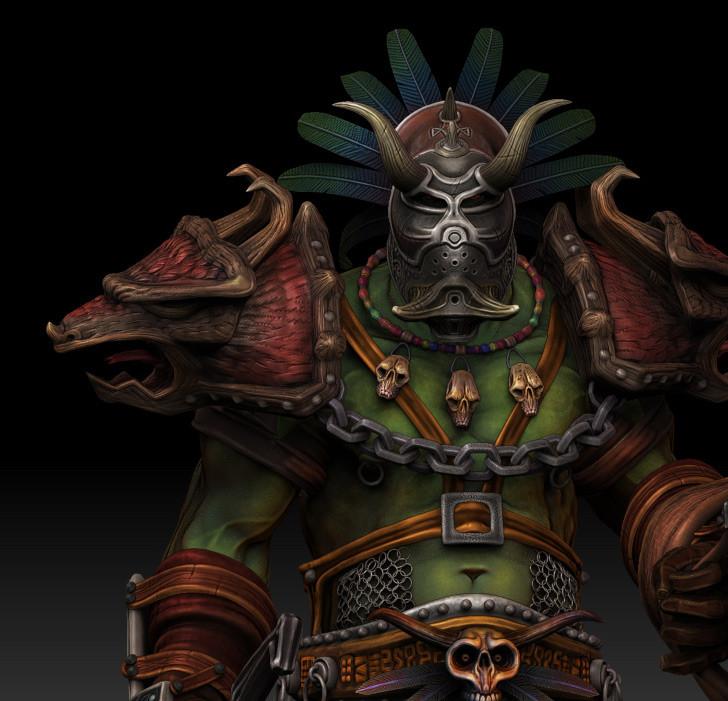Dan burke orc voodoo warrior 03
