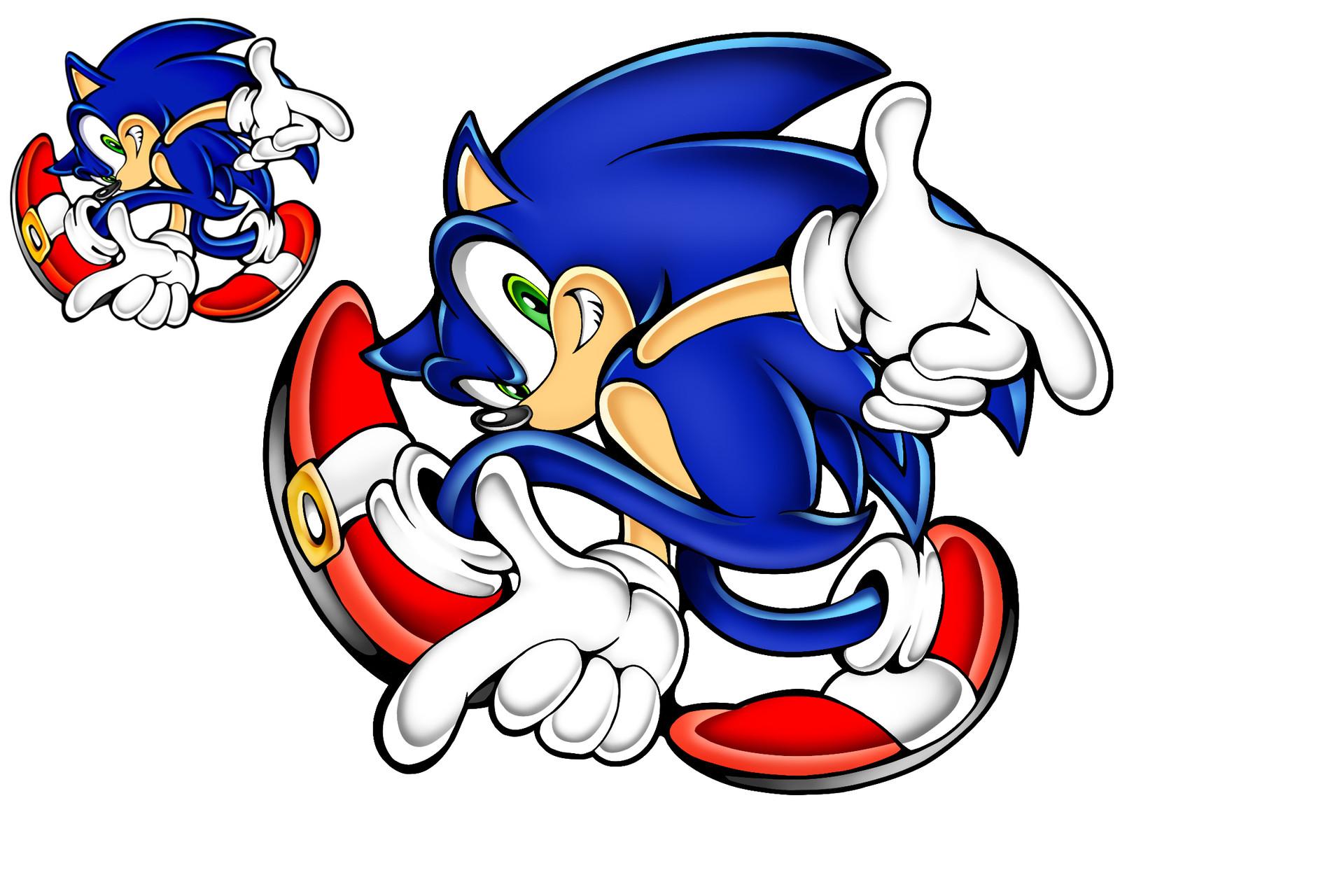 Artstation Sonic The Hedgehog James Daggs