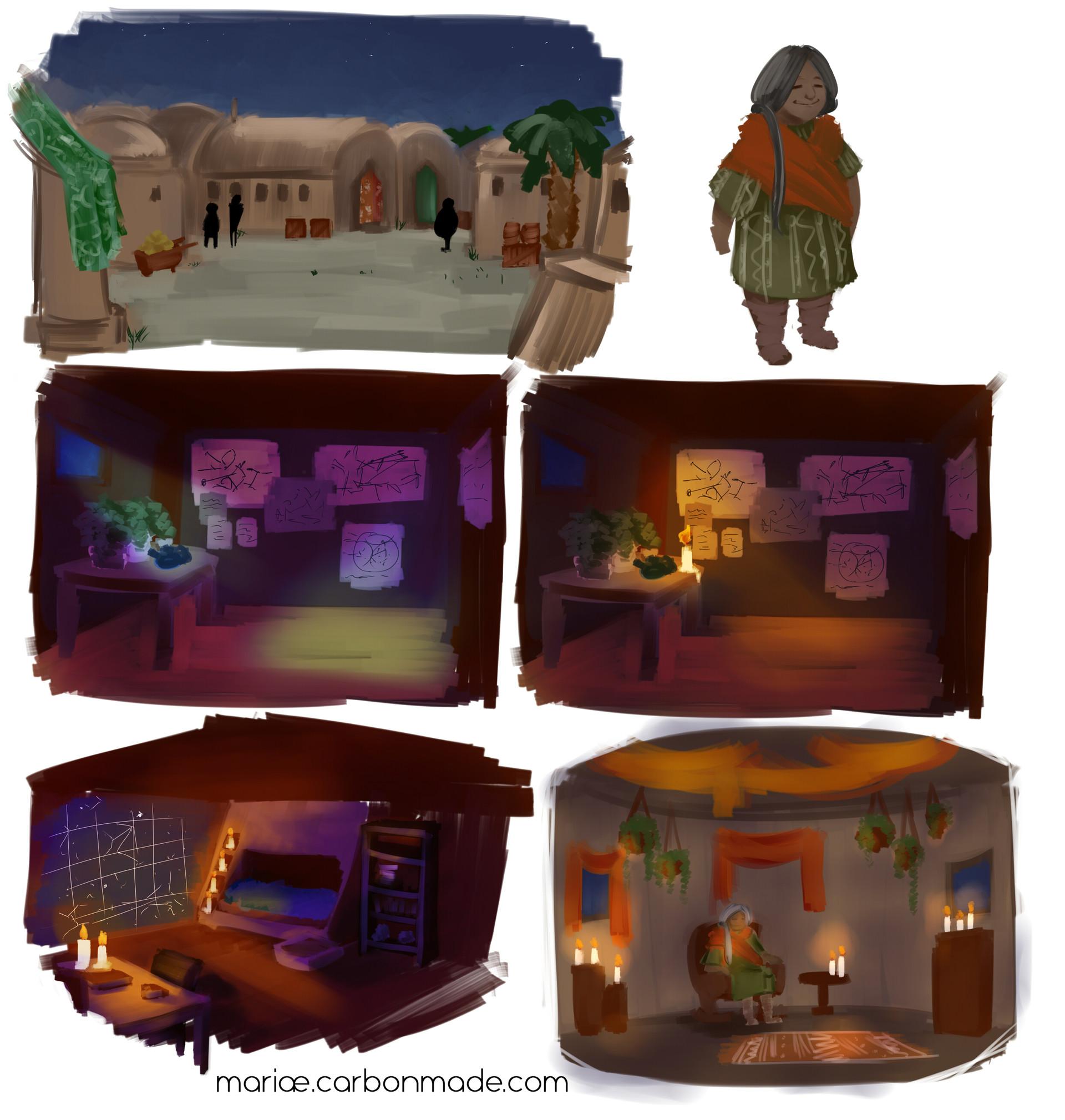 Concept Sketches Pt.3