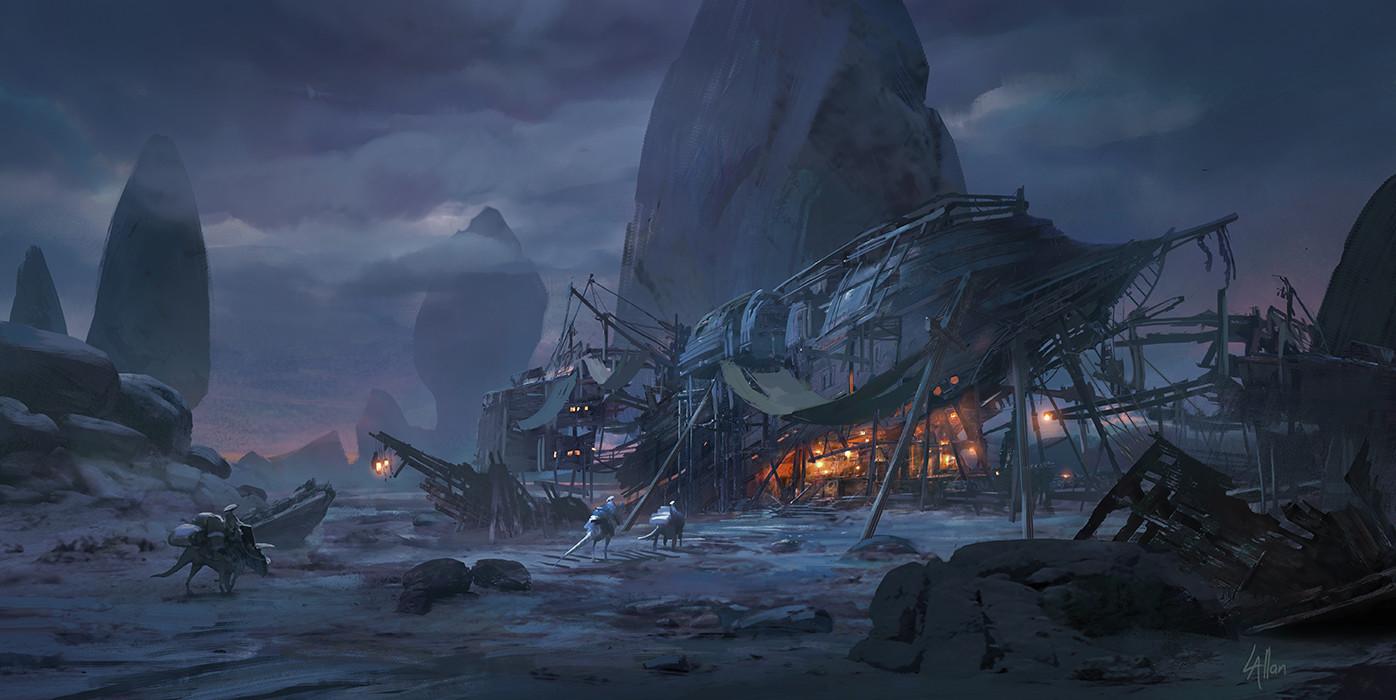 Lloyd allan shipwreck bar lloyd allan haul