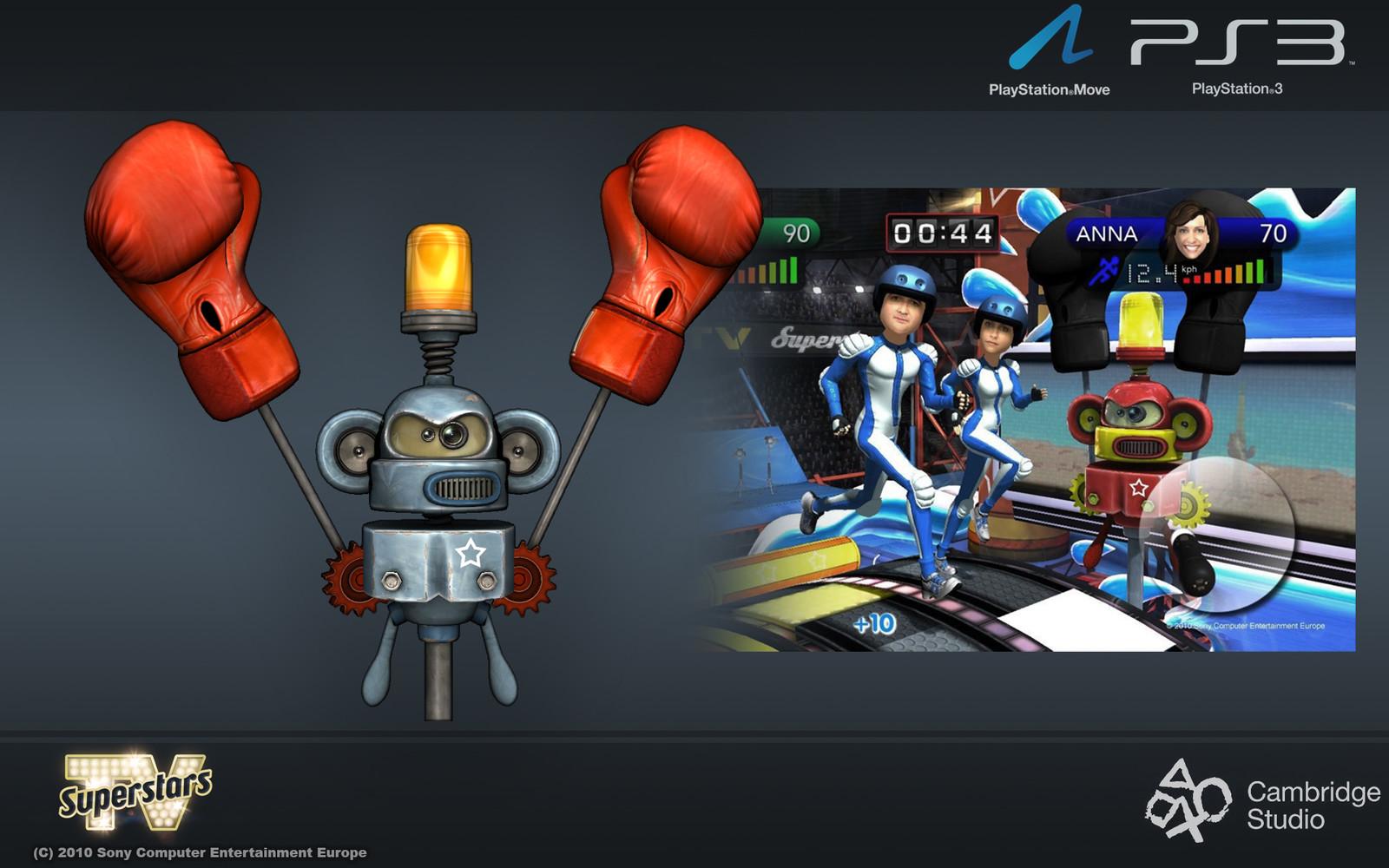 The super crazy Robot Monkey Boxer... Chimpanzee that MONKEY NEWS!!!!!