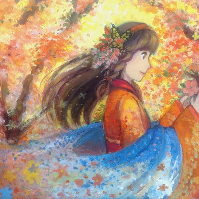 Jessica wei charity painting