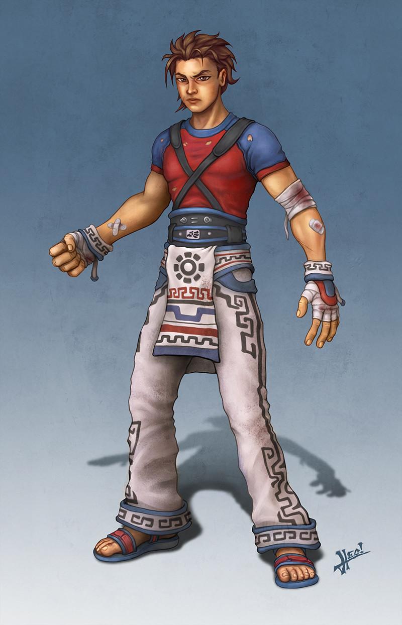 Yaotl - Human Form