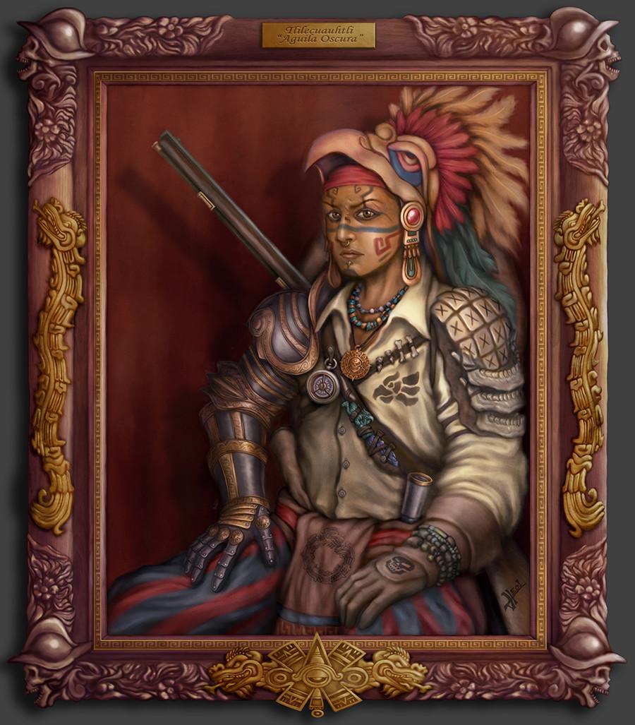 Aguila Oscura - Aztec Pirate
